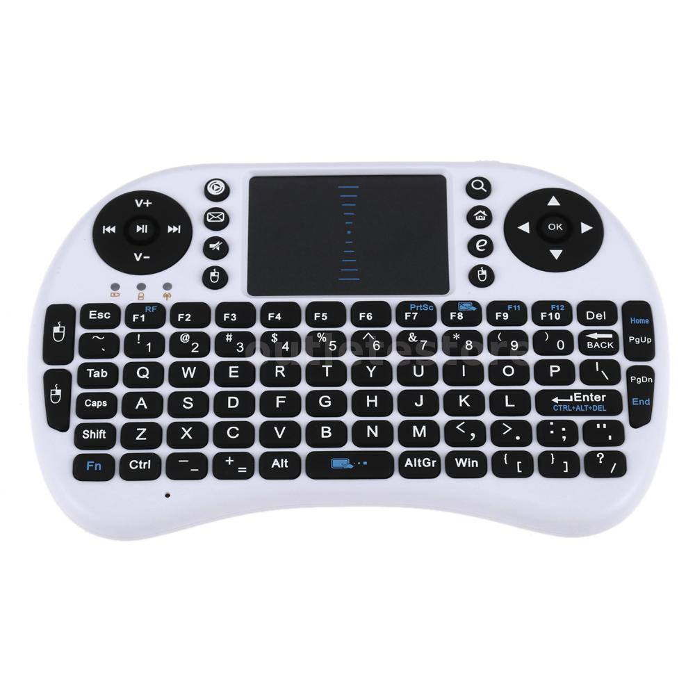 mini 2 4g wireless keyboard handheld air mouse touchpad remote control p4z2 ebay. Black Bedroom Furniture Sets. Home Design Ideas