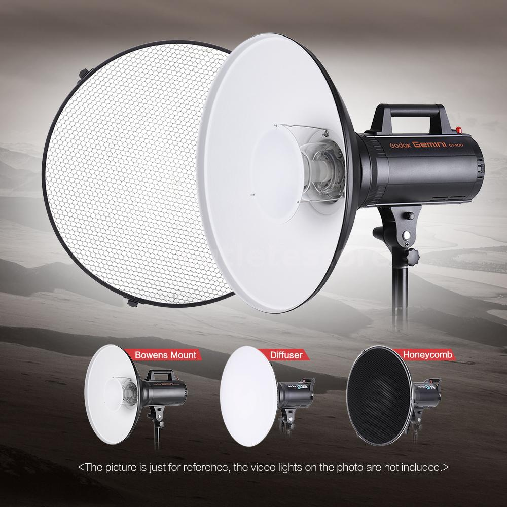 Studio Lighting Diffuser: PhotoStudio Strobe Beauty Dish Softbox Diffuser Honeycomb