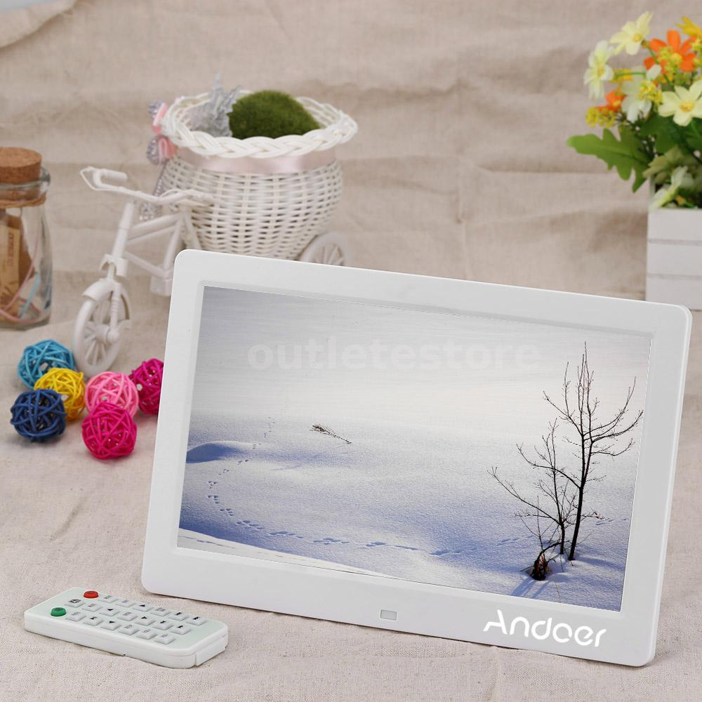 101inch full hd digital photo picture frame clock movie player this digital picture frame digital album or digital photo album lets you view digital pictures directly from your cameras memory card jeuxipadfo Image collections