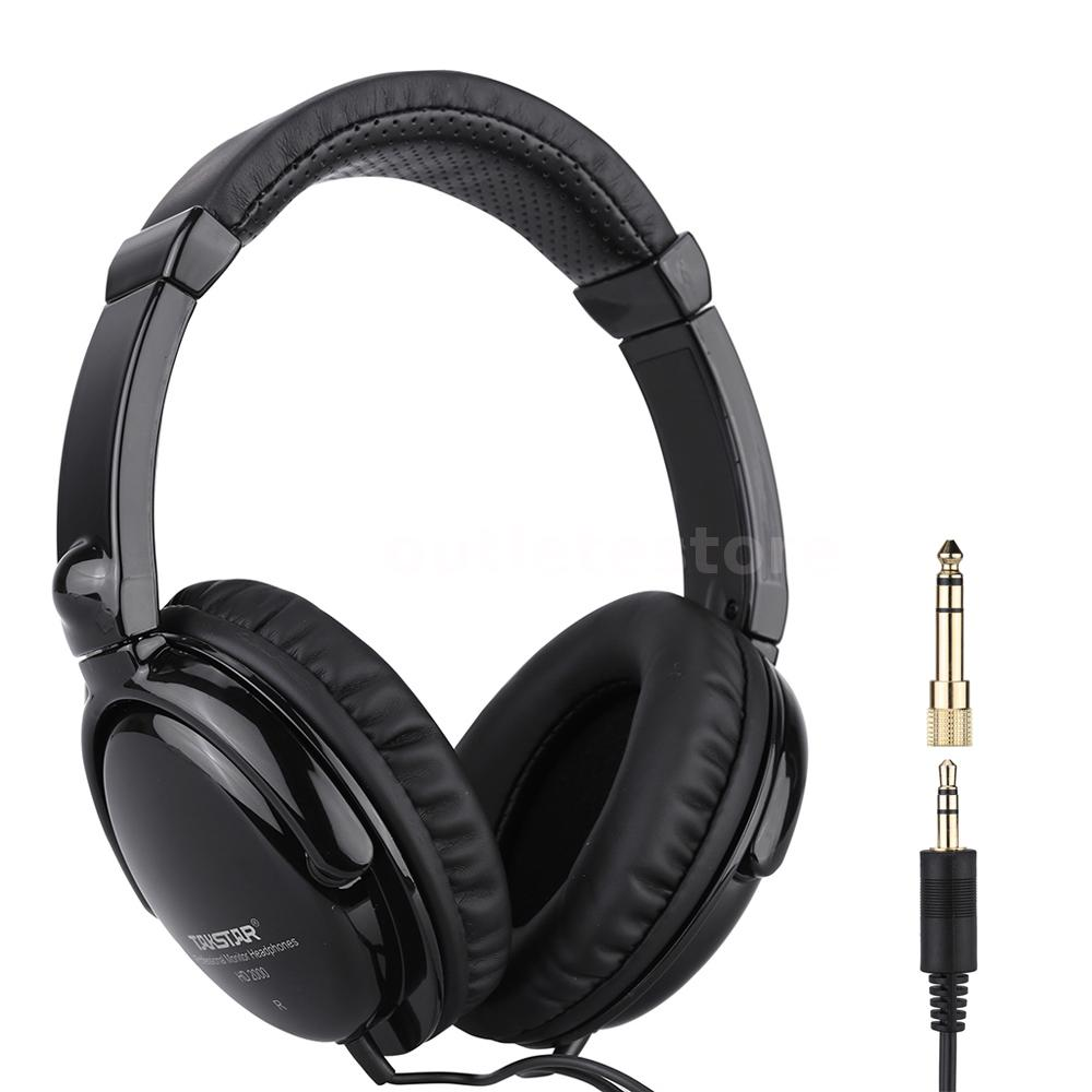 takstar hd2000 headphones audio mixing studio recording dj for guitar f0g8 ebay. Black Bedroom Furniture Sets. Home Design Ideas