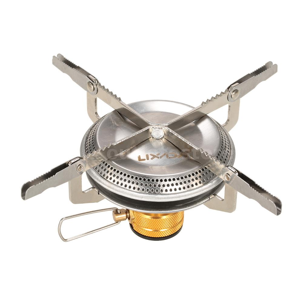 Ultralight Portable Outdoor Camping Gas Stove for Backpacking Cooking 3500W A9X9